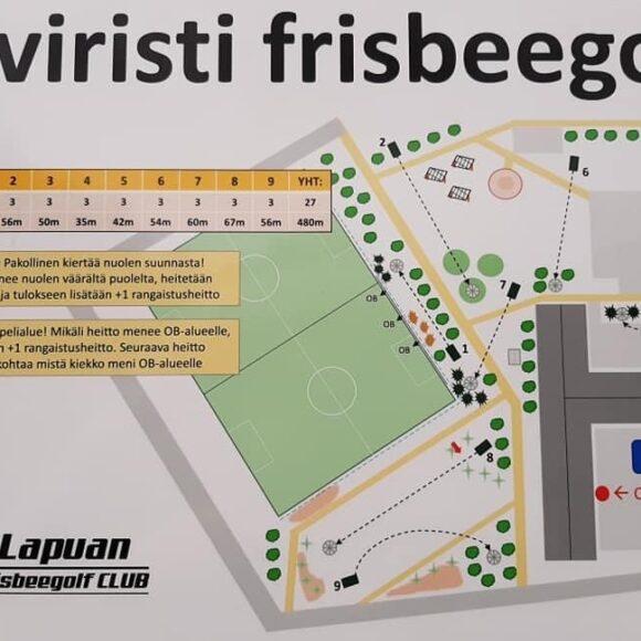 Frisbeegolf Kiviristi
